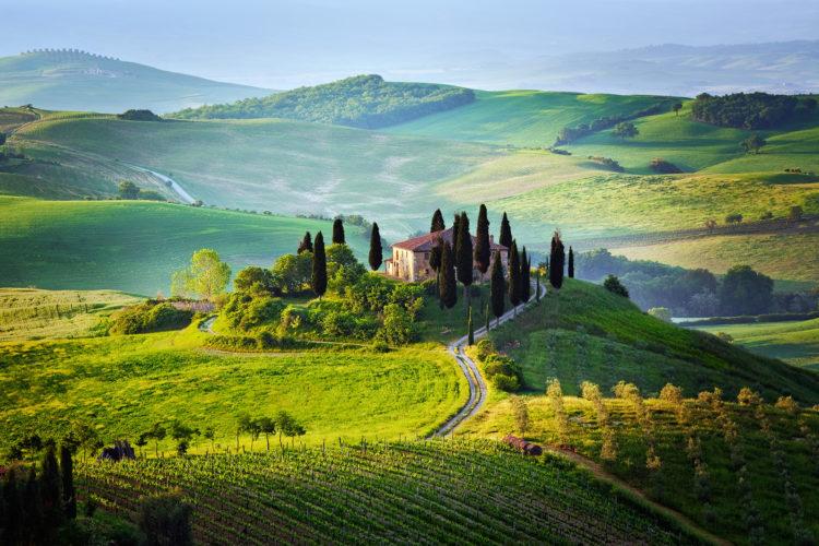 3 viaggi maremma toscana for Piani di campagna in collina