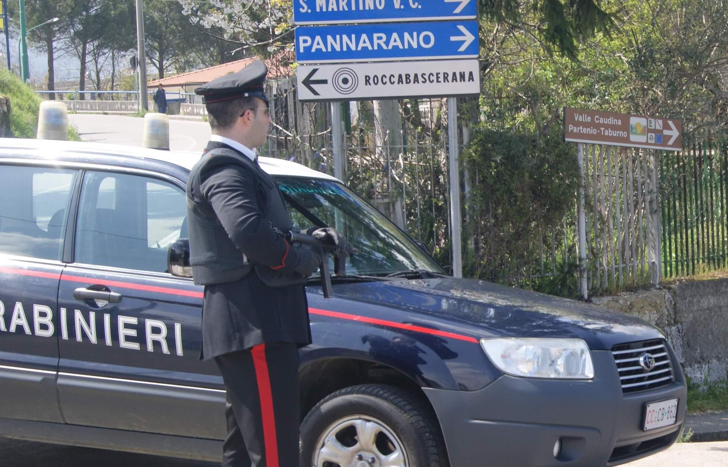 carabinieri roccabascerana