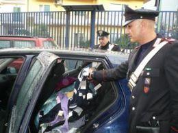 Carabinieri-furto-negozio-abbigliamento