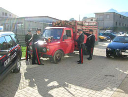 Carabinieri-furto