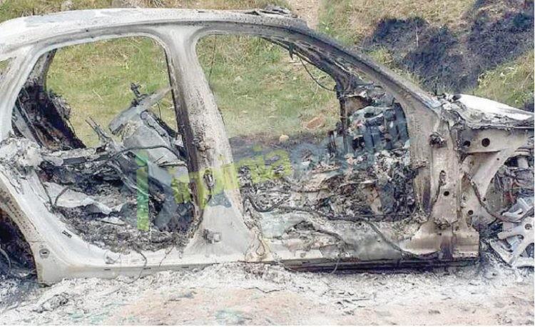 auto bruciata generica
