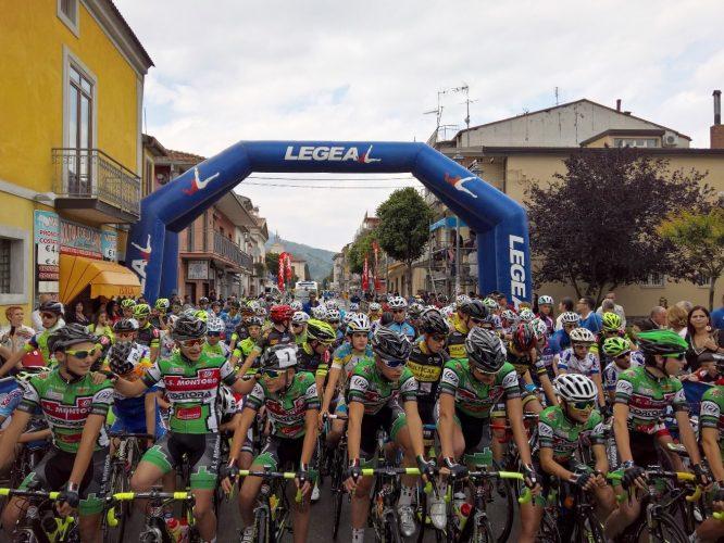 Coppa Montoro 2016 partenza gara allievi