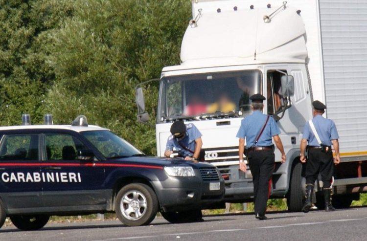 autocarro carabinieri