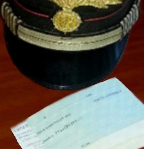 carabinieri assegni