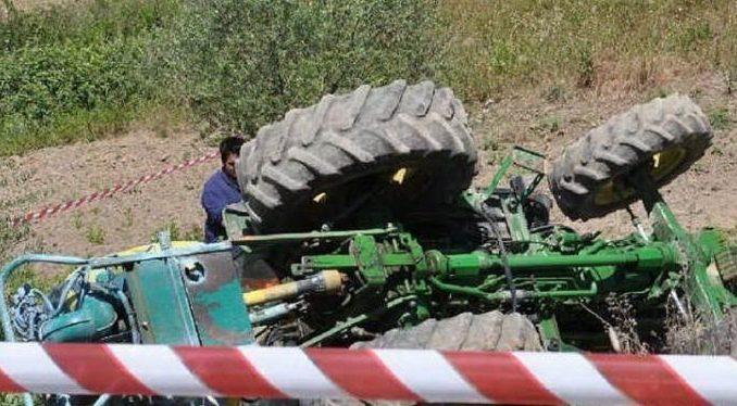 Tragedia a Sorbo Serpico, agricoltore muore investito dal suo trattore