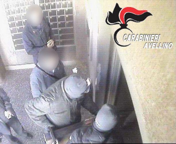 carabinieri rapina sperone