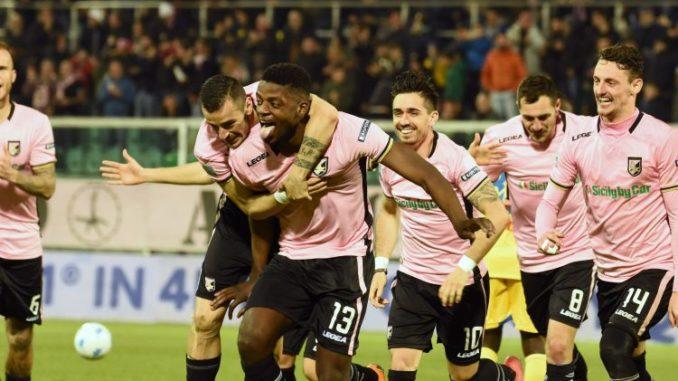 Frosinone. Battuta d'arresto. Palermo vince 1 a 0