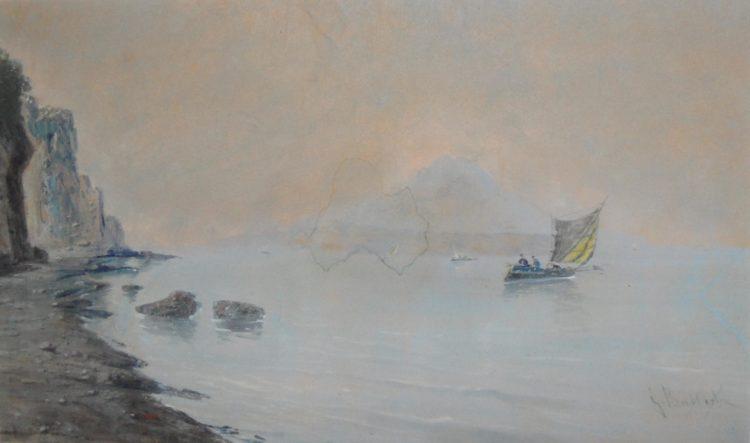 15 – Marina Campana, tm, 1921, 28 x 46