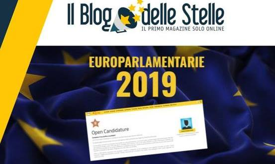 m5s candidature europee