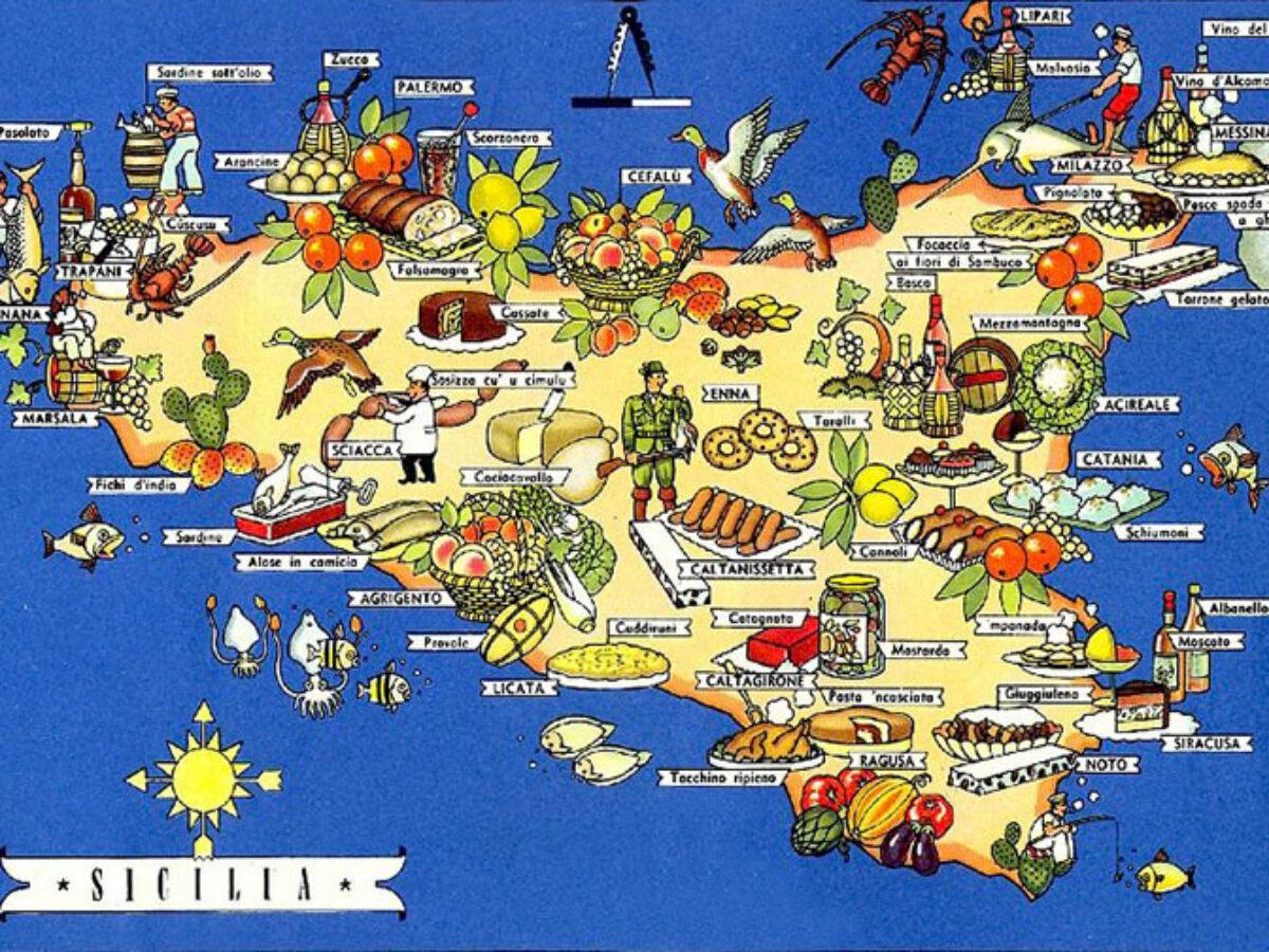 Cartina La Sicilia