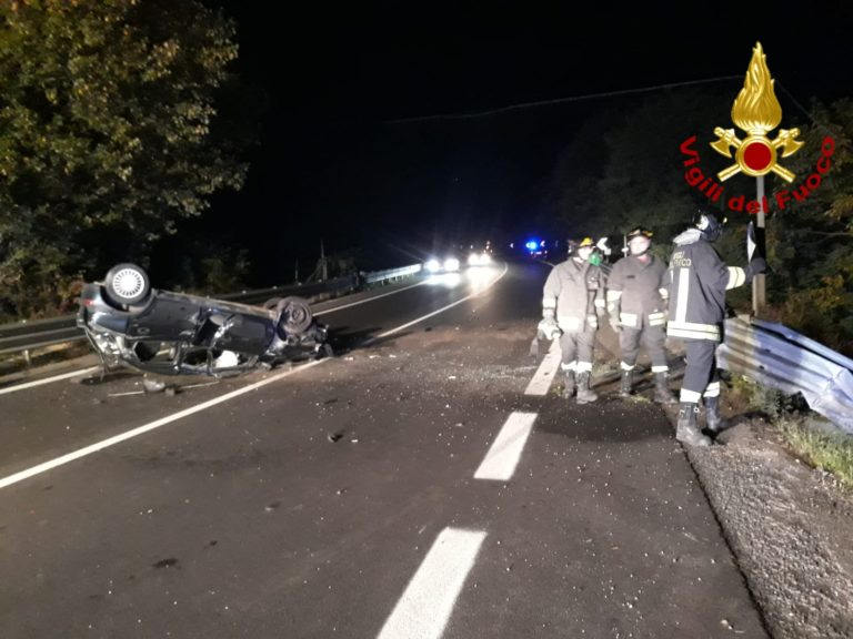Grave incidente stradale nella notte: 26enne ferito sull ...