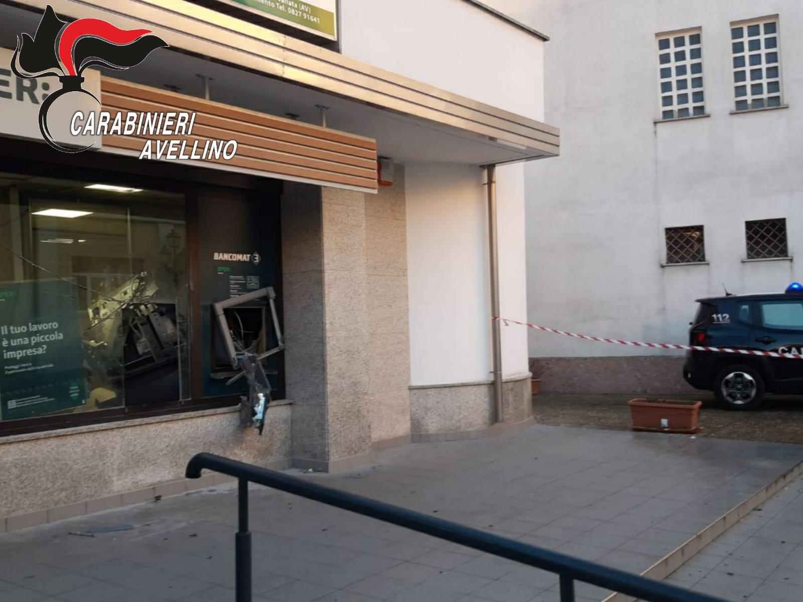banca esplosione