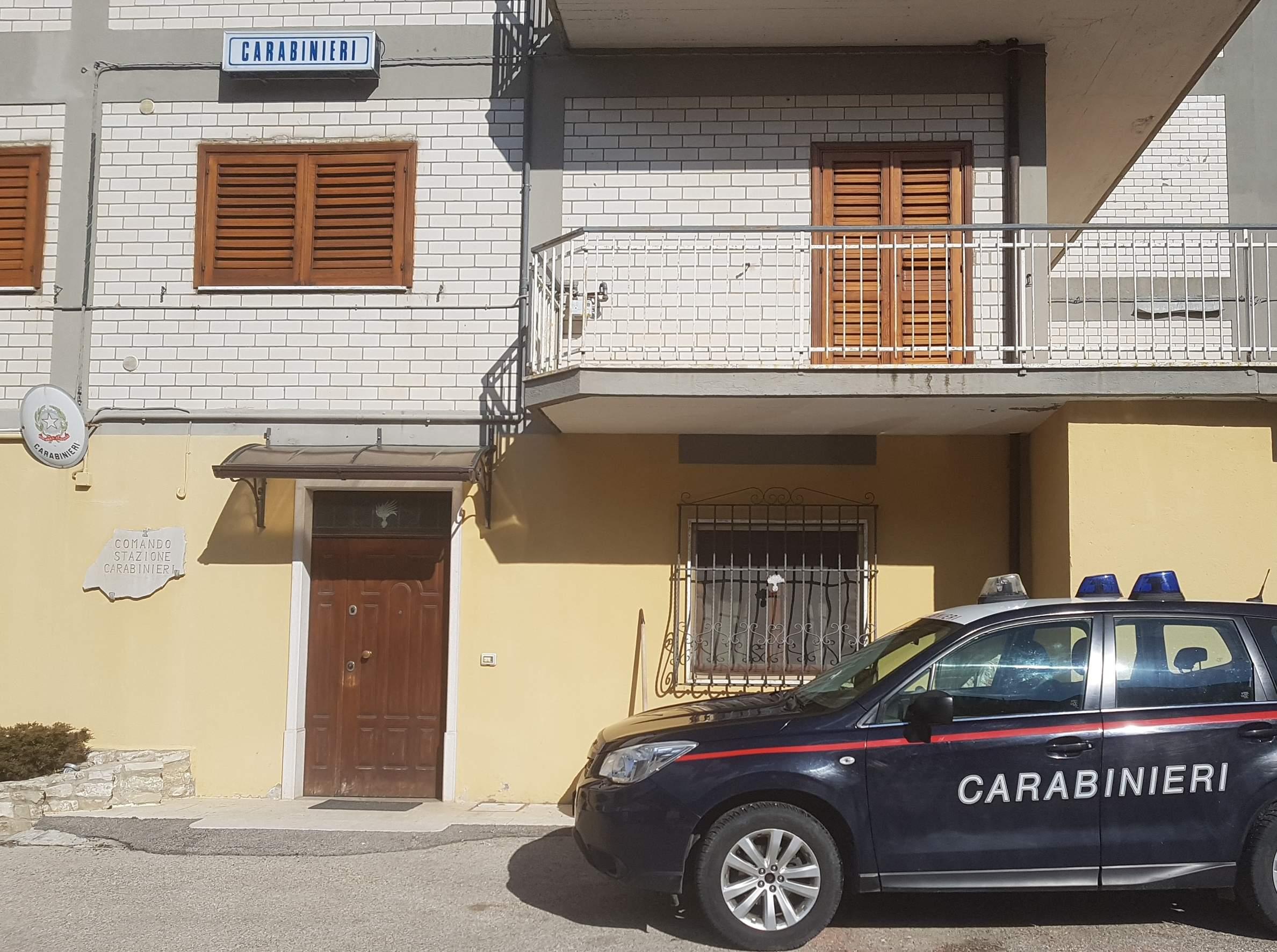 carabinieri lacedonia