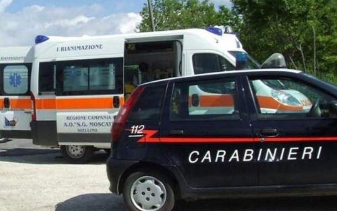 carabinieri-ì ambulanza moscati