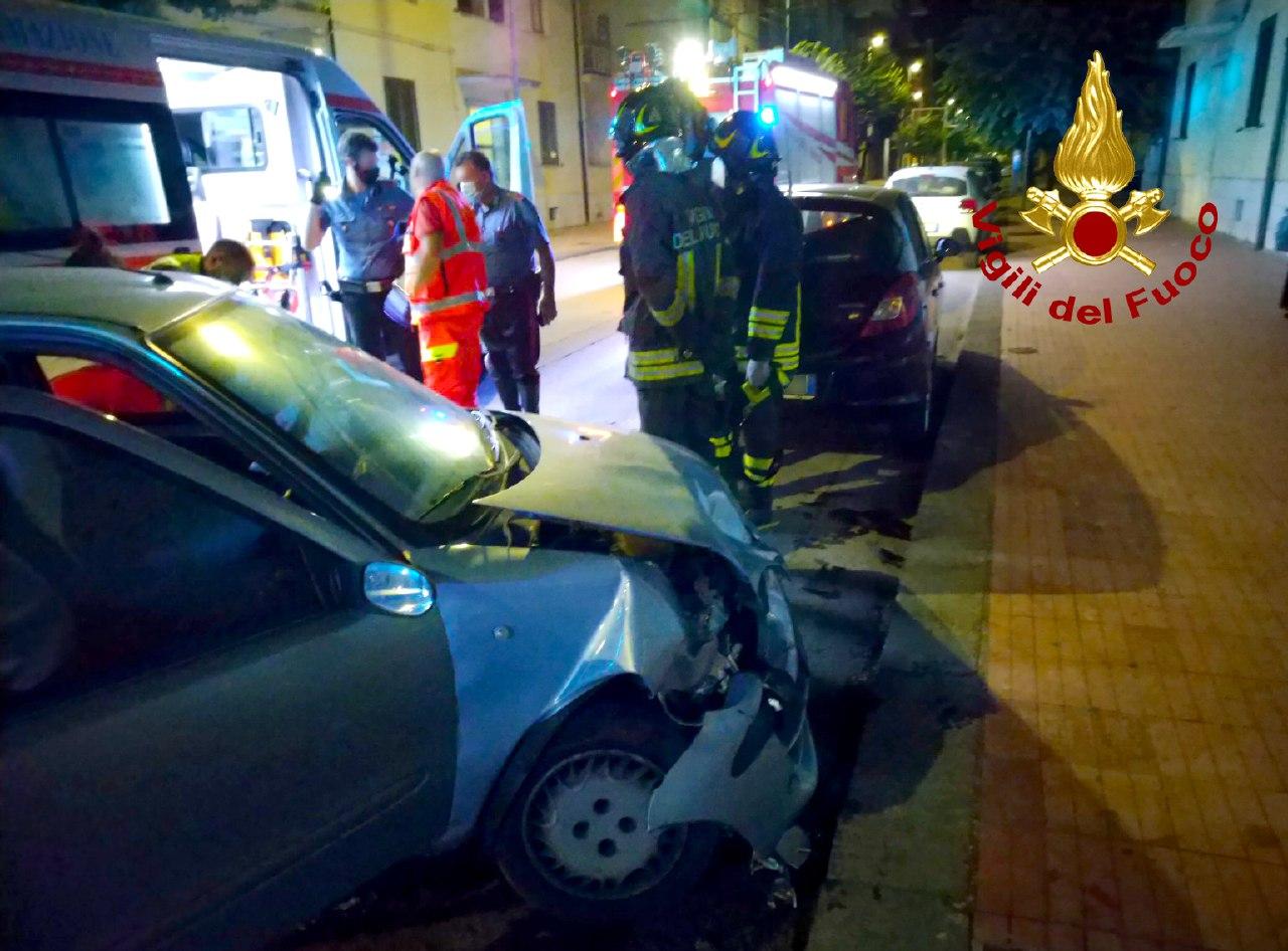 incidente via roma