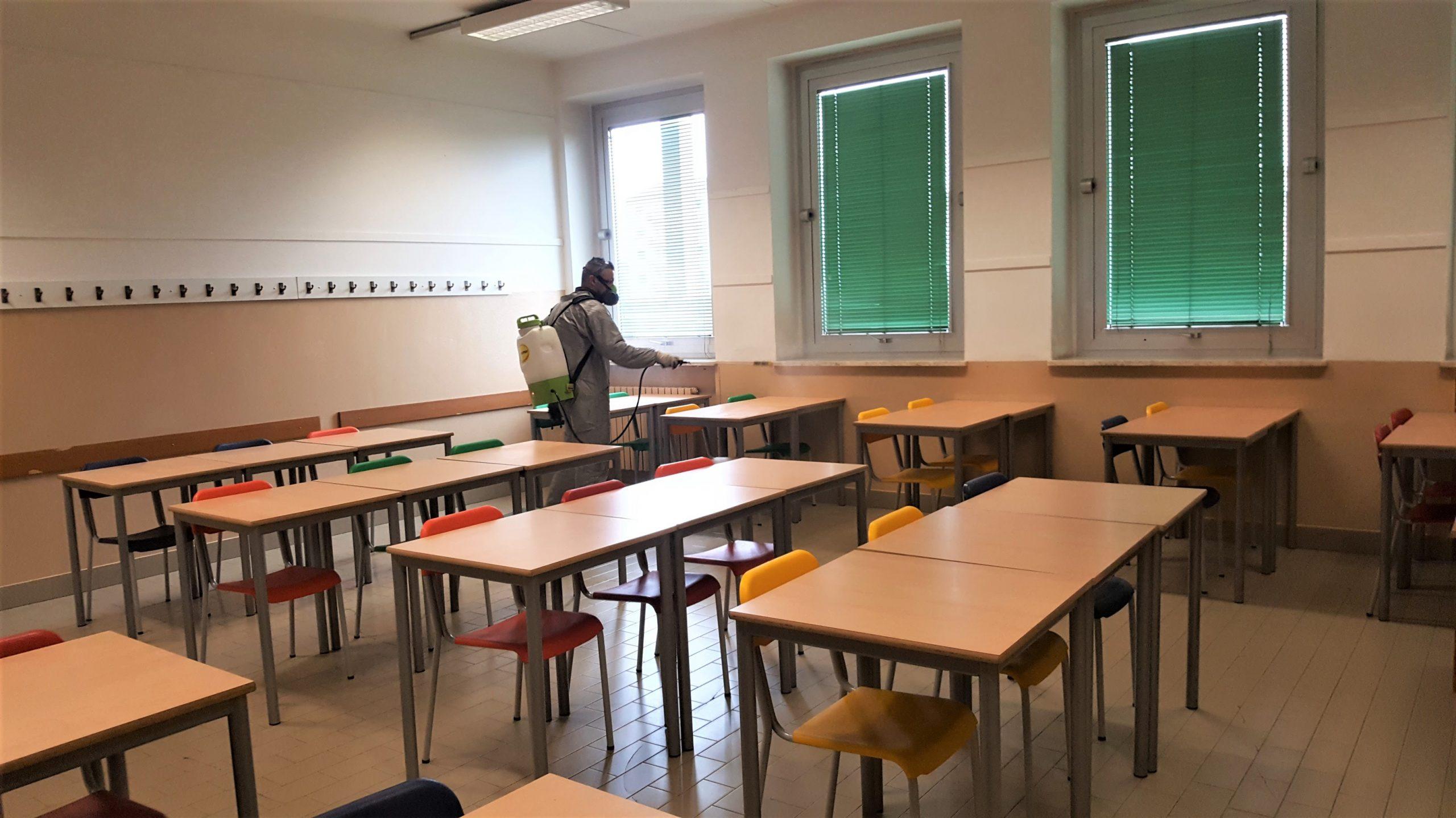 Disinfezione-aula