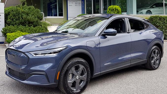 Nuova Ford Mustang Mach-E